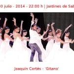 01-03 julio -2014 - 22:00 h | Jardines de Sabatini | Joaquín Cortés - 'Gitano' | Veranos de la Villa 2014 | Madrid