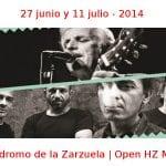 27 junio y 11 julio - 2014 | Hipódromo de la Zarzuela | Open HZ Music | Veranos de la Villa 2014 | Madrid