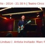 11 julio - 2014 - 21:30 h | Teatro Circo Price |Arto Lindsay - Artista invitado: Marc Ribot | Veranos de la Villa 2014 | Madrid