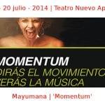 17 - 20 julio - 2014 | Teatro Nuevo Apolo | Mayumana - 'Momentum' | Veranos de la Villa 2014 | Madrid