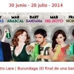 30 junio - 28 julio - 2014 | Teatro Lara | Burundanga (El final de una banda) | Veranos de la Villa 2014 | Madrid