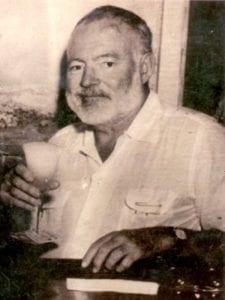 Ernest Hemingway era un apasionado de los daiquiris 'Floridita' cubanos