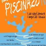 El Piscinazo IV | ¡Mójate por tu piscina! | Domingo 7 de septiembre de 2014 | El Campo de Cebada | Barrio de La Latina | Madrid