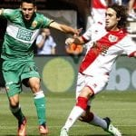El Rayo perdió frente al Elche (2-3) en un partido sin fortuna para los vallecanos (domingo 14 de septiembre de 2014)