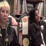 La periodista Karmele Marchante y la autora Consuelo García del Cid durante la presentación de 'Librada' en Mujeres y Cía. La Librería | Madrid - 24-09-2014