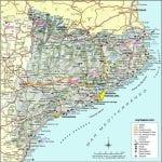 Mapa de Catalunya | España