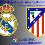 Real Madrid vs Atlético de Madrid | Jornada 3ª - Sábado 13 de septiembre de 2014 | Liga BBVA - Temporada 2014-2015