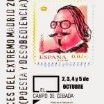 Voces del Extremo Madrid 2014 | 'Poesía y desobediencia' | El Campo de Cebada | La Latina - Madrid | Del 2 al 5 de octubre de 2014 | Cartel | Diseño: David Moreno Hernández