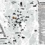 XI Semana Internacional de la Arquitectura de Madrid | 11 International Madrid Architecture Week | Del 3 al 12 de octubre de 2014 | Mapa
