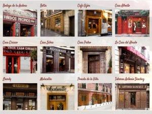 12 Restaurantes y Tabernas Centenarios de Madrid