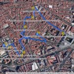 Las 9 tapas de Tapapiés 2014 recomendadas por PqHdM | Tapapiés 2014 | Lavapiés | Del 16 al 26 de octubre de 2014 | Plano de Google con sugerencia de ruta