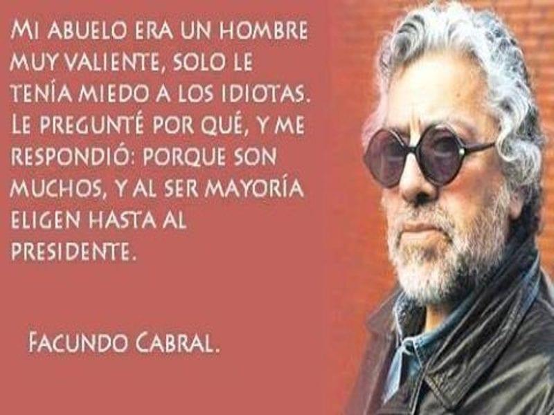 Mi Abuelo Era Un Hombre Muy Valiente Facundo Cabral