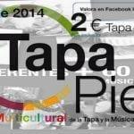 Tapapiés 2014 | 4ª Ruta Multicultural de la Tapa y la Música de Lavapiés | Del 16 al 26 de octubre de 2014 | Portada