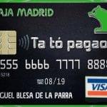 Tarjeta negra Caja Madrid 'Ta tó pagao'