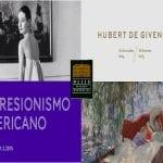 Ampliación de horarios de las exposiciones temporales -Impresionismo americano y Hubert de Givenchy- en el Museo de Arte Thyssen-Bornemisza de Madrid