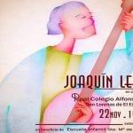 Concierto solidario de Joaquín Lera en beneficio de la Escuela Infantil Santa María de Leuca | San Lorenzo de El Escorial | Comunidad de Madrid | Sábado 22 de noviembre de 2014