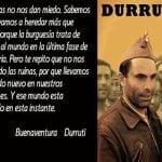 Las ruinas no nos dan miedo | Buenaventura Durruti | León 14 de julio de 1896 - Madrid 20 de noviembre de 1936