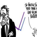 Rajoy, Podemos y el Whatsapp | © Fito Vázquez 2014