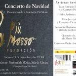 Concierto de Navidad | Presentación de la Fundación Più Mosso | Auditorio Nacional de Música | Madrid | Viernes 19 de diciembre de 2014 - 19:30 horas
