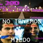 El 20D todos a la calle | Di NO a la Ley Mordaza | No tenemos miedo | No Somos Delito | Foto; Juan Zarza/DISO Press