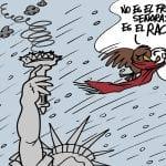 Ola de racismo en USA | © Fito Vázquez 2014