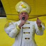 Ordenación 'Pequeño Nicolás' como Obispo de la Iglesia Patólica | 'El Campo de Cebada' | Domingo 28 de diciembre de 2014 | Sumo Pontífice Leo Bassi