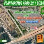 'Plantaremos Árboles y Bellotas' | '¡Por un paseo arbolado para Campamento!' | Grupo Entorno Meaques-Retamares y Plataforma Ciudadana Salvemos Campamento de Madrid | Domingo 14 de diciembre de 2014
