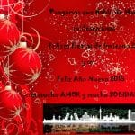 Pongamos que Hablo de Madrid os desea unas Felices Fiestas de Invierno 2014 y un Feliz Año Nuevo 2015 con mucho AMOR y mucha SOLIDARIDAD