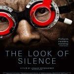 Cartel 'The look of silence' de Joshua Oppenheimer | Dinamarca/Indonesia/Noruega/Finlandia/Reino Unido 2014 | Premio del Público al Mejor Largometraje | DocumentaMadrid 2015
