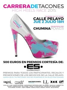 Carrera de Tacones - High Heels Race 2015 | Calle de Pelayo - Madrid | Jueves 2 de julio de 2015 | Madrid Orgullo MADO 2015
