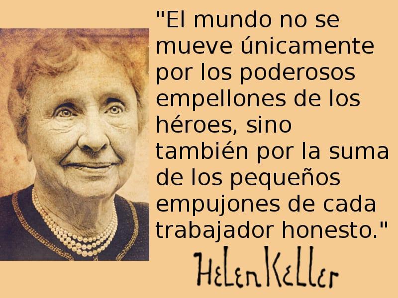 El Mundo No Se Mueve Helen Keller Pongamos Que Hablo