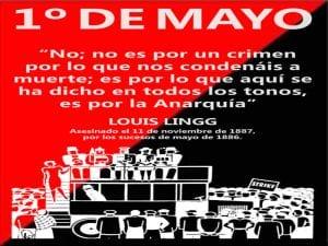 Primero de Mayo | 'No es por un crimen por lo que nos condenáis a muerte' | Louis Lingg