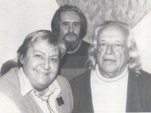 Salir del Armario | Sobre Gloria Fuertes en su centenario | Carlos Edmundo de Ory, Gloria Fuertes y Rafael Alberti la noche del 23F