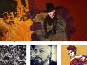 1er Festival Internacional NU-CA | Fernán Gómez-Centro Cultural de la Villa | Madrid | 03 al 13/05/2018 | Exposición 'Diosxs, Teatrerxs, Cabareterxs' de Fran Gonari