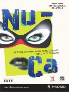 1er Festival Internacional NU-CA | Fernán Gómez-Centro Cultural de la Villa | Madrid | 03 al 13/05/2018 | Cartel