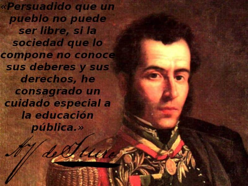Un Pueblo No Puede Ser Libre Antonio José De Sucre