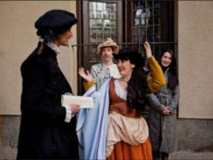 Letras y Espadas 2019 | Rutas teatralizadas | Domingos mayo y junio 2019 | Casa Lope de Vega | Barrio de las Letras | Madrid | Foto David Serrano