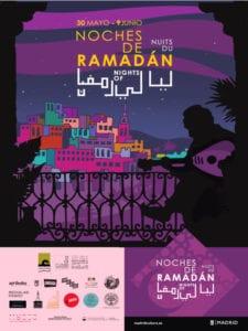 Noches de Ramadán 2019 | Madrid | 30/05-09/06/2019 | Cartel