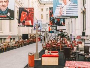 6ª Cibeles de Cine | CentroCentro | 29/06 - 12/09/2019 | Retiro | Madrid | Exposición de Flore Maquin en el Bar & Lounge