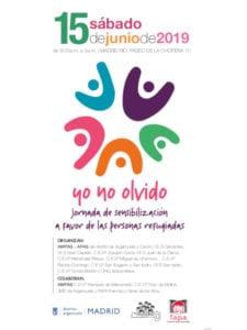 Del olvido a la acción 2019 | 3ª jornada de sensibilización a favor de las personas refugiadas | 15/06/2019 | Arganzuela | Madrid | Cartel