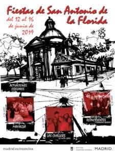 Fiestas de San Antonio de la Florida 2019 | Moncloa-Aravaca | Madrid | 12-16/06/2019 | Actuaciones estelares