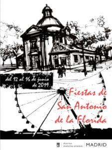 Fiestas de San Antonio de la Florida 2019 | Moncloa-Aravaca | Madrid | 12-16/06/2019 | Cartel