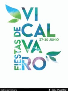Fiestas de Vicálvaro 2019 | 27-30/06/2019 | Vicálvaro | Madrid Cartel | Diseño: Aurora Iocchi