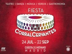 Fiesta Corral Cervantes 2019 | 24/07-22/09/2019 | Cuesta de Moyano | Retiro | Madrid | Cartel