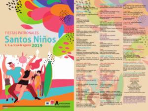 Fiestas de los Santos Niños 2019 | Distrito I | Alcalá d Henares | Comunidad de Madrid | 02-06/08/2019 | Programa