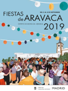 Fiestas de Aravaca 2019 | Moncloa-Aravaca | Madrid | 05-08/09/2019 | Cartel