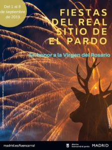 Fiestas de El Pardo 2019 | Real Sitio de El Pardo | Fuencarral-El Pardo | Madrid | 31/08-08/09/2019 | Cartel de Ana María Marchán Martín