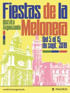 Fiestas de La Melonera 2019 | Arganzuela | Madrid | 05-15/09/2019 | Cartel