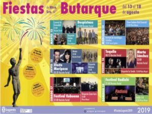 Fiestas de Leganés 2019 | Virgen de Butarque | Leganés | Comunidad de Madrid | 13-18/08/2019 | Programa de conciertos
