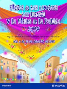 Fiestas de San Cayetano, San Lorenzo y La Paloma 2019 | 01-09/08/2019 | Centro | Madrid | Cartel